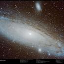 Galassia di Andromeda,                                Edoardo Perenich