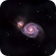 M51/Whirlpool Galaxy,                                John Kroon