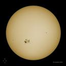 Soleil du 22 octobre 2014,                                Astronem