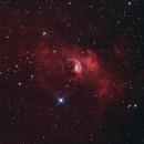 Bubble nebula,                                christian.hennes