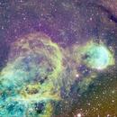 NGC3324 The Gabriela Mistral Nebula and surrounds,                                Joe Perulero