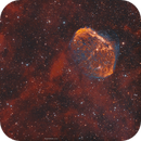The Crescent Nebula and The Soap Bubble in RGBHaO3,                                John
