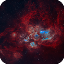 NGC 6357 The Lobster Nebula,                                Jian Yuan Peng