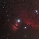 IC434 Horsehead nebula // 480mm fl,                                Olli67