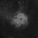 C49 Rosette Nebula in Ha,                                Jack Liu