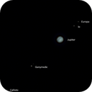 Jupiter and Saturn day before conjunction,                                ken_and_sara