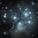 M45 Pleiades,                                Alban_Lamy