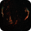Cygnus Loop with L-eNhance filter,                                Clemley