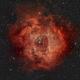 Rosette Nebula (Morocco - Agadir),                                Paul Muskee