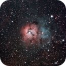 The Trifid Nebula (Revisited),                                GazingSkyward