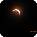 Partial Solar Eclipse- 85.834% Obscuration- Fort Wayne, IN-August 21, 2017,                                Winton G