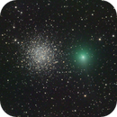 Comet 88P/Howell and NGC 5897,                                José J. Chambó