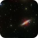 M82 - Cigar Galaxy,                                Elvie1
