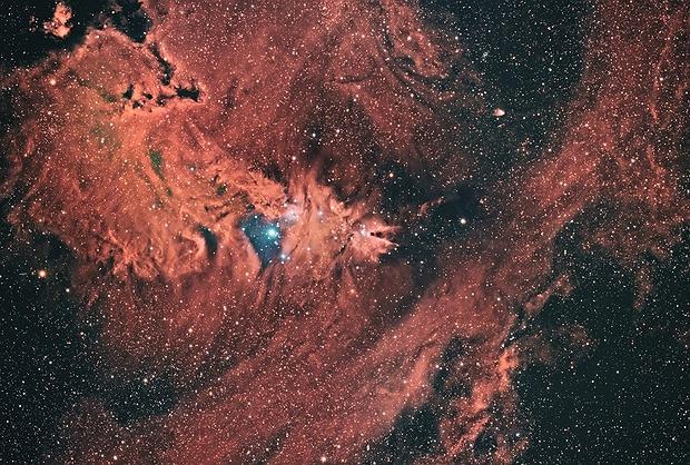 ngc2264 nebulosa cono,                                Massimo Miniello