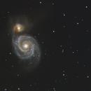 M51 - Whirlpool Galaxy,                                GregsAstrobin