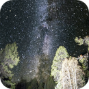 MilkyWay outside Whitefish Montana,                                dts350z