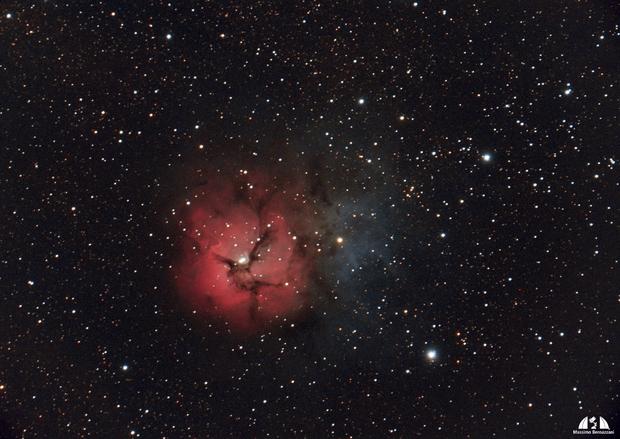 M20 - Nebulosa Trifida,                                Massimo Bernazzani