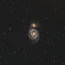 whirlpool galaxy M51 au C8 Edge,                                Nicolas JAUME