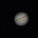 Jupiter near opposition August 20 2021,                                lonespacewolf