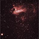 M17 - Swan Nebula,                                Newton Cesar Florencio