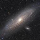 M31 Andromeda Galaxy,                                snakagawa