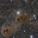 Dusty Ain in the Hyades -- Sh2-239 to NGC 1555,                                Jarrett Trezzo