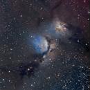 NGC 2068 in Orion,                                Andre van Zegveld