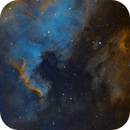 North American Nebula in Hubble Palette,                                Anis Abdul