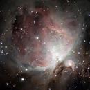 Orion nebula second image,                                Astrobagel