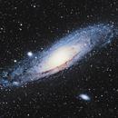 M31 Andromeda Galaxy @ Poigan Camp,                                WarGawd