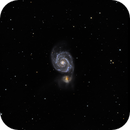 Messier 51 - The Whirlpool Galaxy,                                Randy Roy