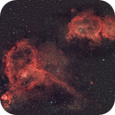 Heart and Soul Nebula (IC 1805 and IC 1848),                                Dom Schepis