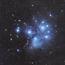 The Pleiades Star Cluster (DSLR),                                Trevor Jones