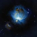 M42 - Great Orion Nebula - SHO,                                Nathan Farrow