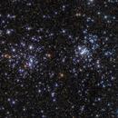The Double Cluster,                                Erik Guneriussen