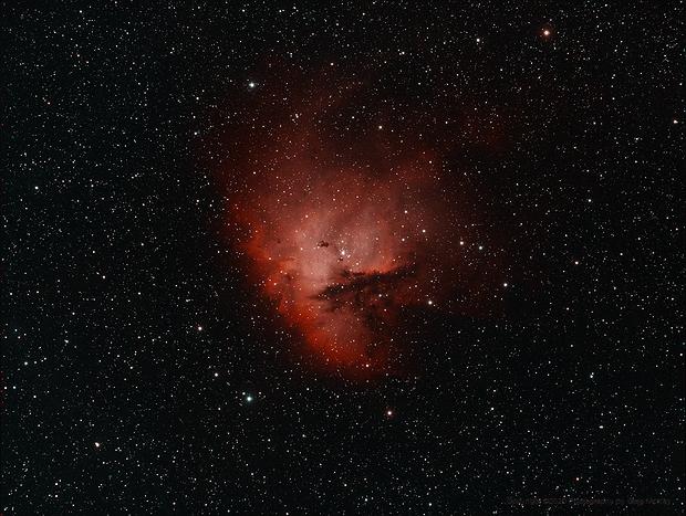 NGC 281 The Pacman Nebula,                                Greg McKay