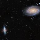 m81 and m82 mergemosaic,                                pfile