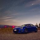 Subaru BRZ under the Stars,                                Marco Failli