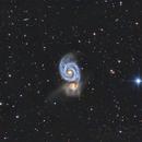 M51 galaxia del remolino,                                Juan Antonio Sanc...