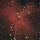 M16 Eagle Nebula (LRGB) - 25 Aug 2019,                                Geof Lewis