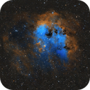 IC 410 – The Tadpoles Nebula,                                pmneo