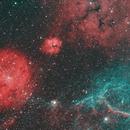 GUM 14, 15, 17 and Part of Vela SNR,                                Le Le