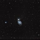 NGC 5195-94 M51Glassia vortice,                                Emanuele Patassini