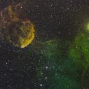 IC 443 widefield,                                Jari Saukkonen