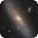 3parts mosaic of the Andromeda Galaxy,                                Michael S.