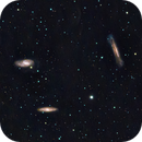 Leo Triplet: M65, M66, and NGC 3628,                                Yungshih Lee